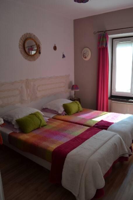 Deux lits 90