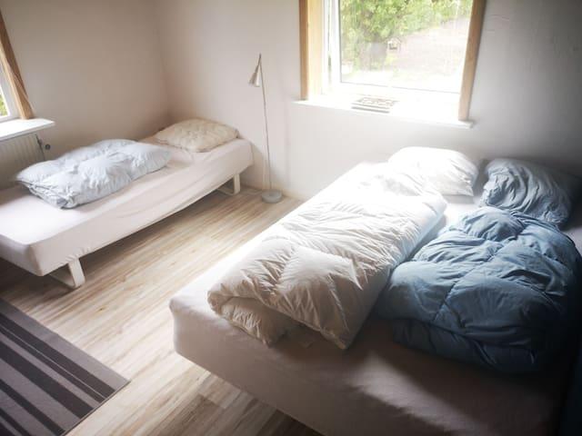 Enkeltseng og 3/4 seng