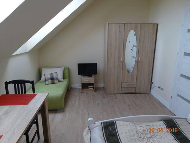 pokój 2-osobowy w domu jednorodzinnym z 1 łóżkiem