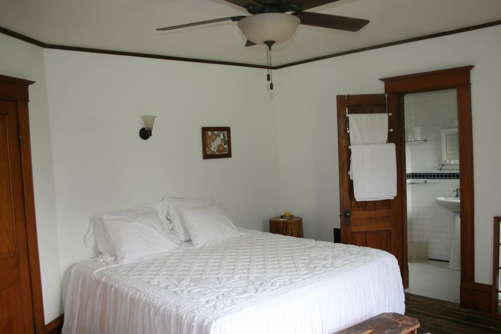 Sunset Suite is room 2 with on suite bath at $89 per nite