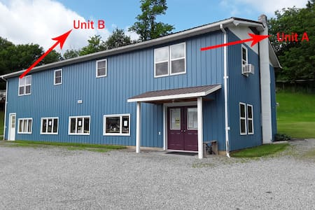 Blackberry Hill-Unit A.  NEW!  1 Queen 2 Twin Beds