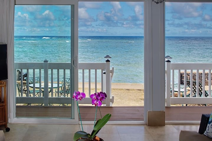 ALIOMANU OCEANFRONT BLISS! ON THE WATER!