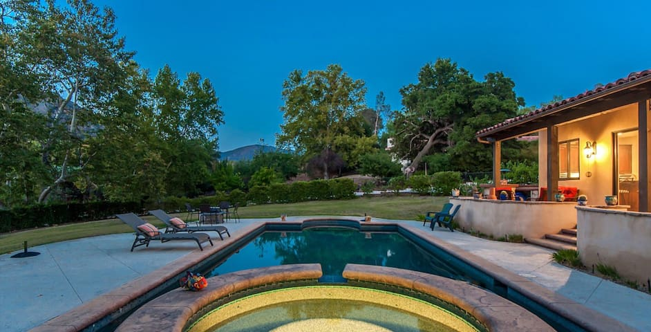 Malibu Wine Country Guest Villa - Agoura Hills - Pension