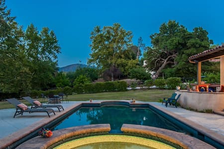 Malibu Wine Country Guest Villa - 亚哥拉山(Agoura Hills)