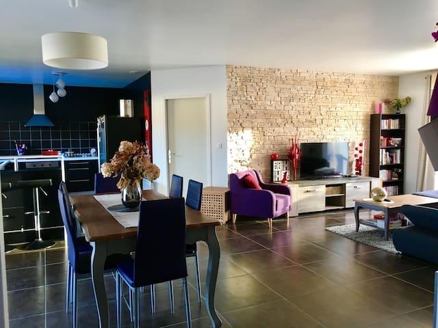 Maison moderne avec piscine - Pradines - Hus