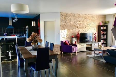 Maison moderne avec piscine - Pradines - Rumah