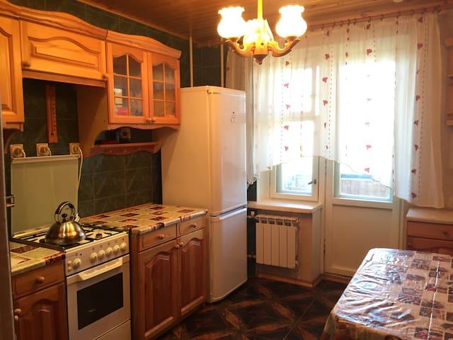 Уютная 2-х комн.квартира в центре - Дубна - Appartement