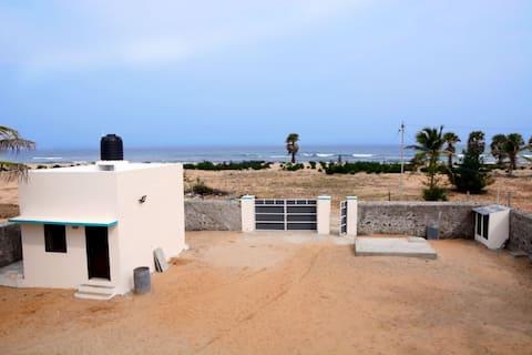 ECR Beach House with the Beach access-near Chennai