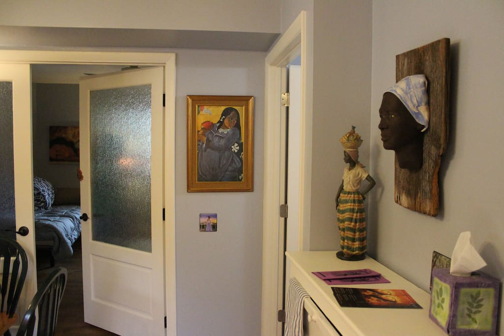 See the artwork that adorns the walls of Annie's Place.