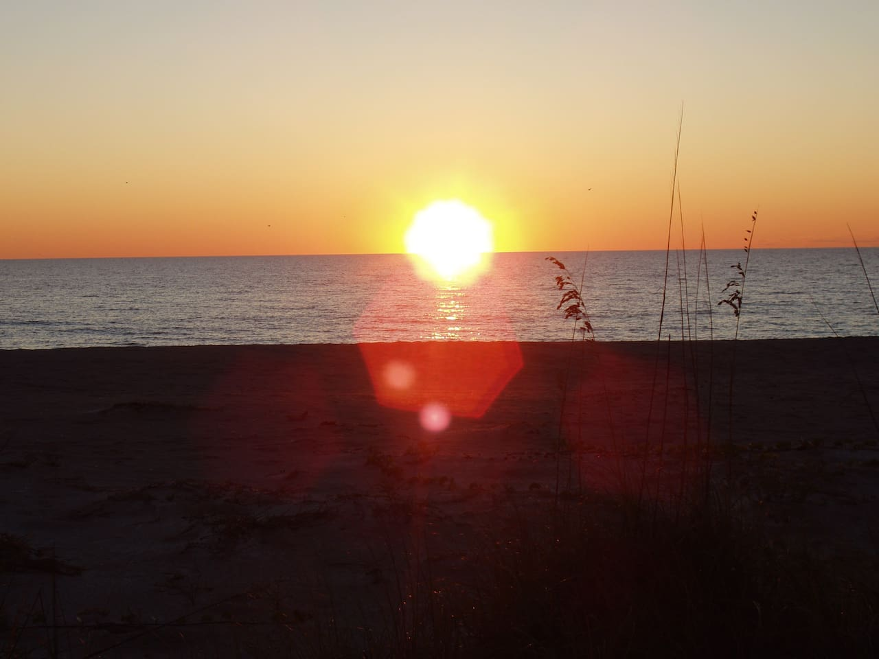 Sunsets on the beach - 5 minutes away!