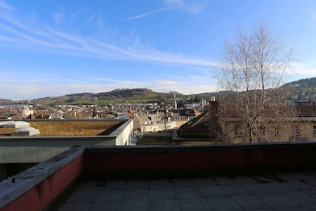 Nice view over St. Gallen - Apartament