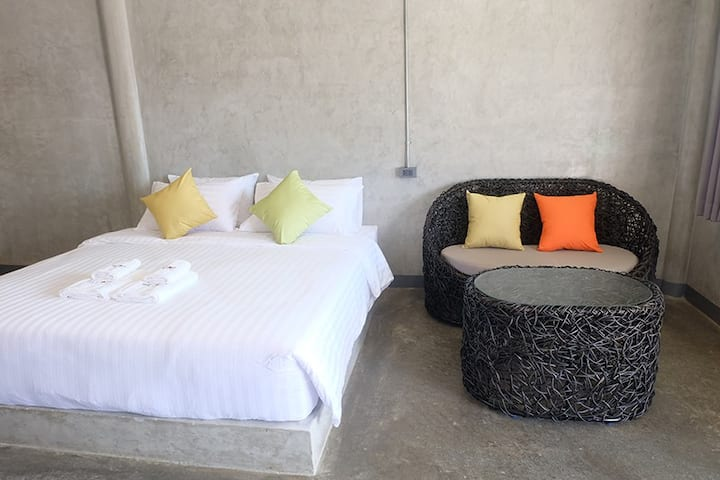 The Loft at chiangrai: Delux Double bed R.3