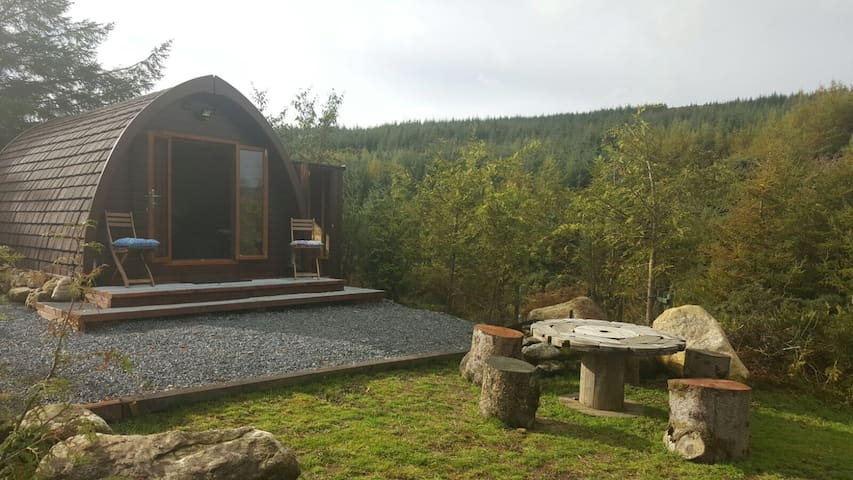 Relaxing Glamping/eco-pod Wicklow Mountains