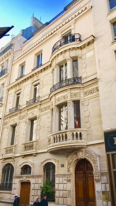 The historical 19 th c Hotel Particulier