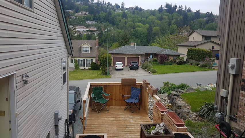 Private Deck, Eagle Mountain View