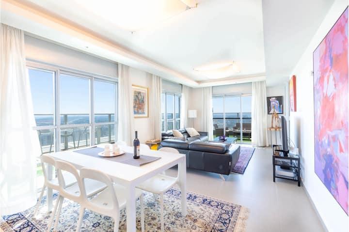 Seaview Oasis- Luxurious penthouse ⭐⭐⭐⭐⭐