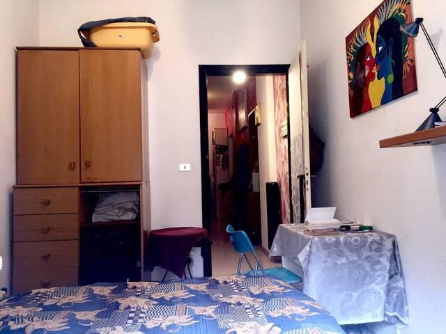 Stanza singola in appartamento condiviso sul Po