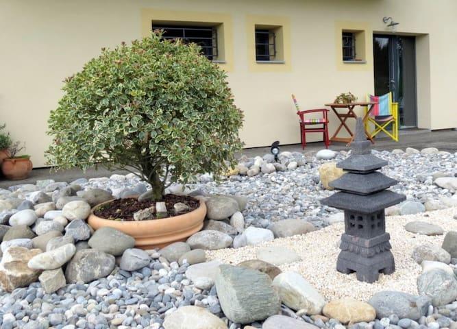 au Jardin Zen près du Lac, la nature vers la ville - Chavanod - Huis