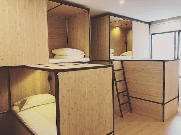 【NEA BAY】青年旅舍 四人间床位 女生入住 火车站 金马坊 南屏街 翠湖