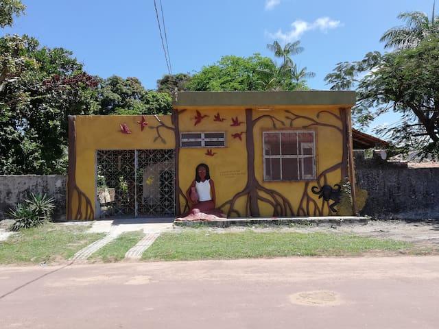 Habitat Marajó Hostel, em Soure, apto casal