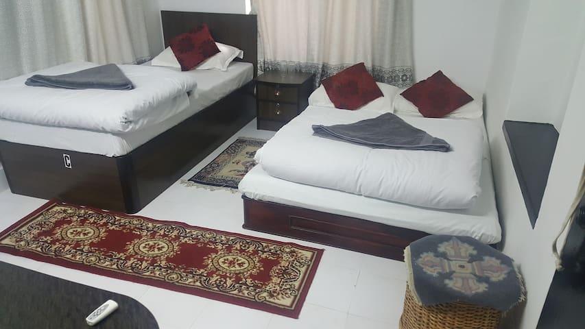 Clean hostel in Thamel.