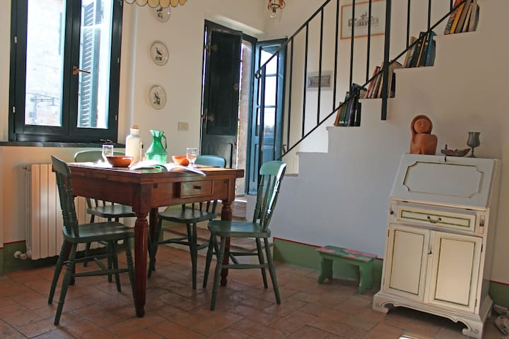 Charming apartment between Siena and Val d'Orcia - Vescovado - Wohnung