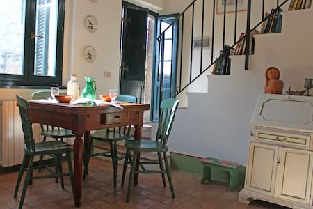 Charming apartment between Siena and Val d'Orcia - Vescovado - Lägenhet