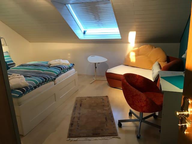 Grosses Doppelzimmer mit eigenem Bad