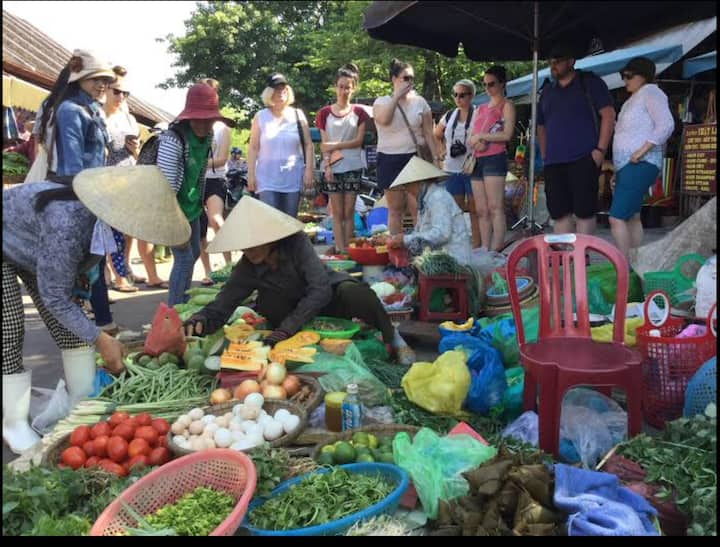 Go to local market