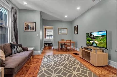 Modern lägenhet i hjärtat av Buffalo