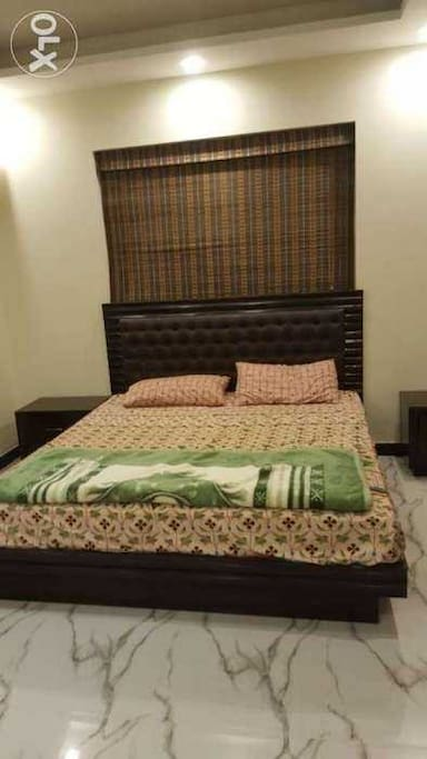 Spacious bed rooms