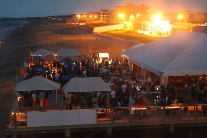 Surfside dining and dancing day and night, or head around the corner to Joe's Playland arcade, ice cream, or ...