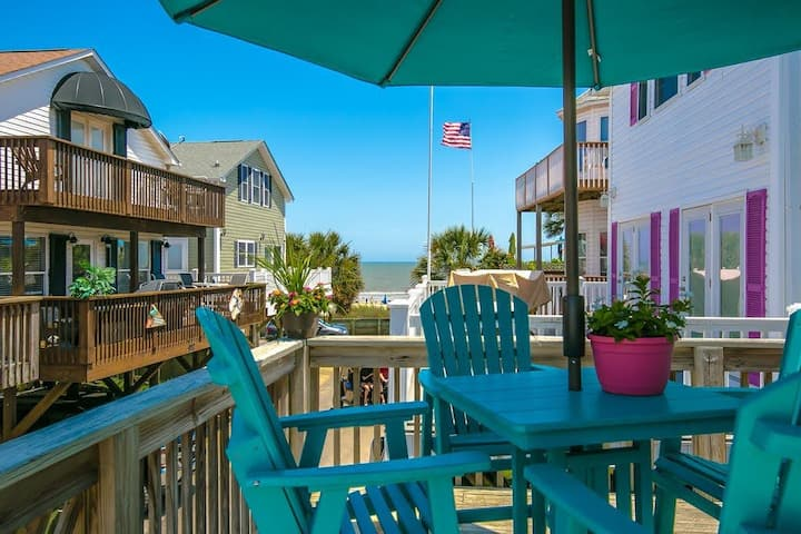 Large Decks Awesome Ocean Views steps to the beach