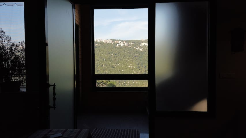 Entrance with a view