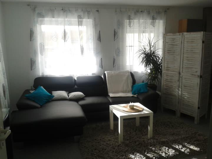 Apartment nahe Ulm/Universität mit PKW-Stellplatz