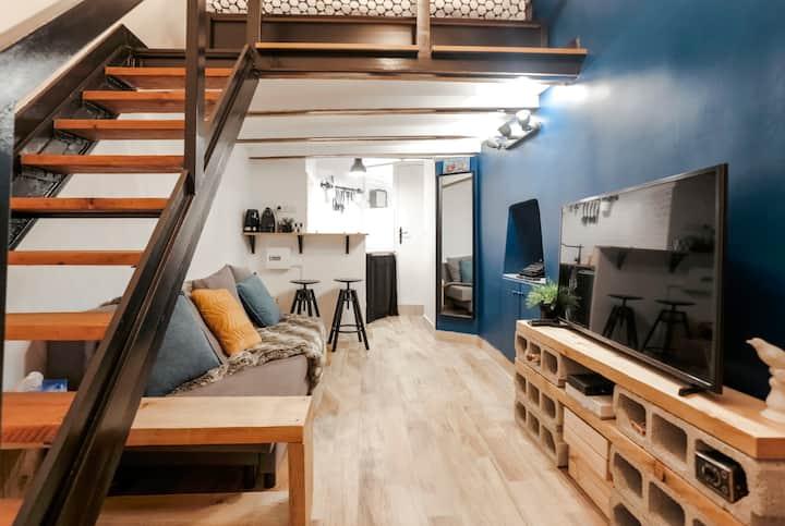 Cozy studio apartment in the center of Nice
