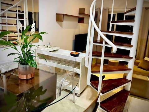 Duplex Avenida Paulista +Hotel Amenities