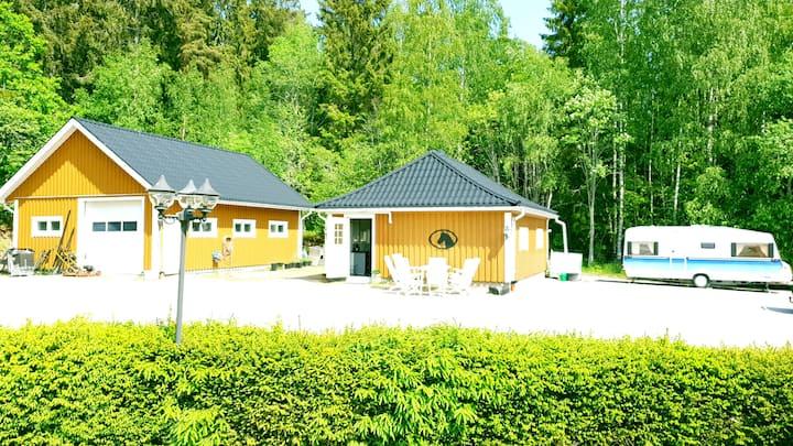 Nyrenoverat Kolmården. Newly renovated Kolmården.
