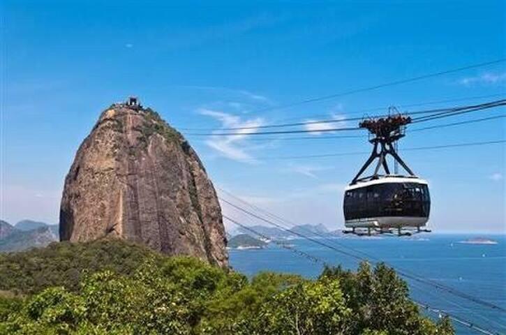 Near Copacabana, Lapa, Christ and Maracanã