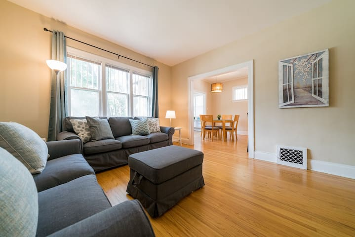 RENOVATED CHARACTER HOME IN NORTH RIVER HEIGHTS