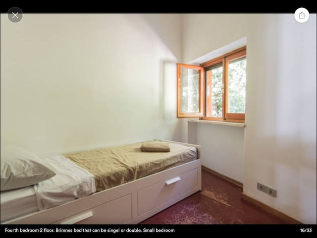 In Conero park, single or doble bed - Sirolo - Huis