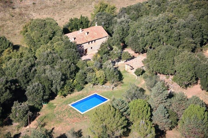 Masía rural con dos apartamentos en La Garrotxa - Beuda - Pension
