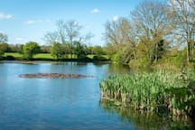 The beautiful lake is just a few metres from Long Range 1