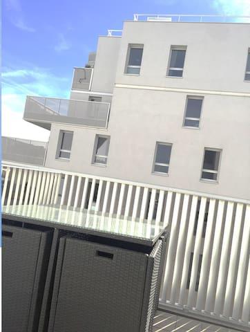 70 m2 Station à 50m Proche Paris Centre - Asnières-sur-Seine - Apartemen