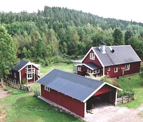ENKELT BOENDE MITT I NATUREN / GÄSTRUMMET
