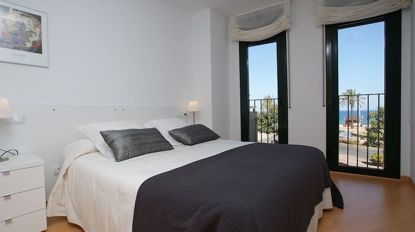 Beautiful & centric apartment in front of the sea - Blanes - Wohnung