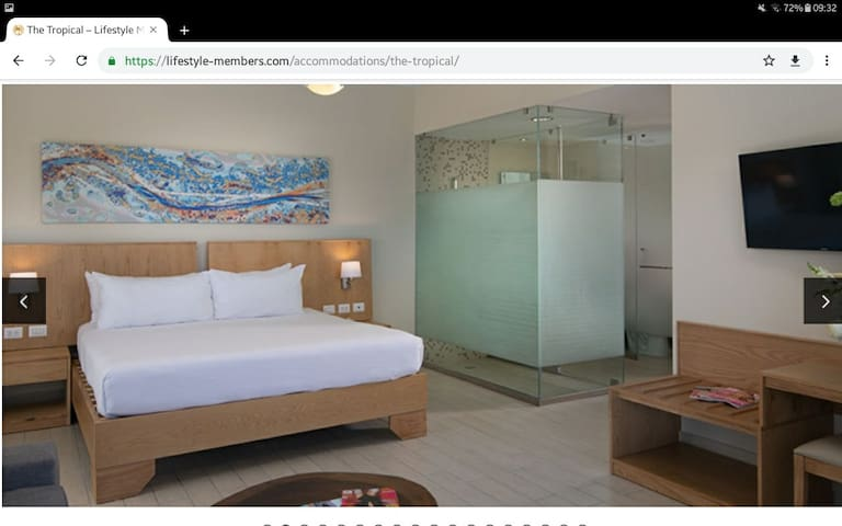 Magnifique suite Junior 5* VIP. Lifestyle Holidays