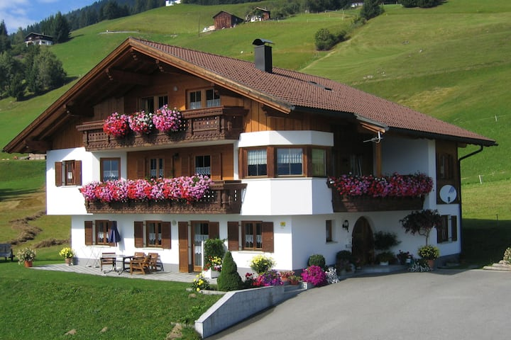 Apartment in Vorarlberg with Balcony, Heating, Parking