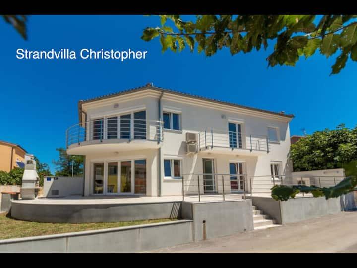 Ferienhaus Christopher am Badestrand