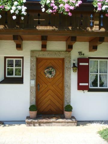 Privater Zugang zu den einzelnen Apartments